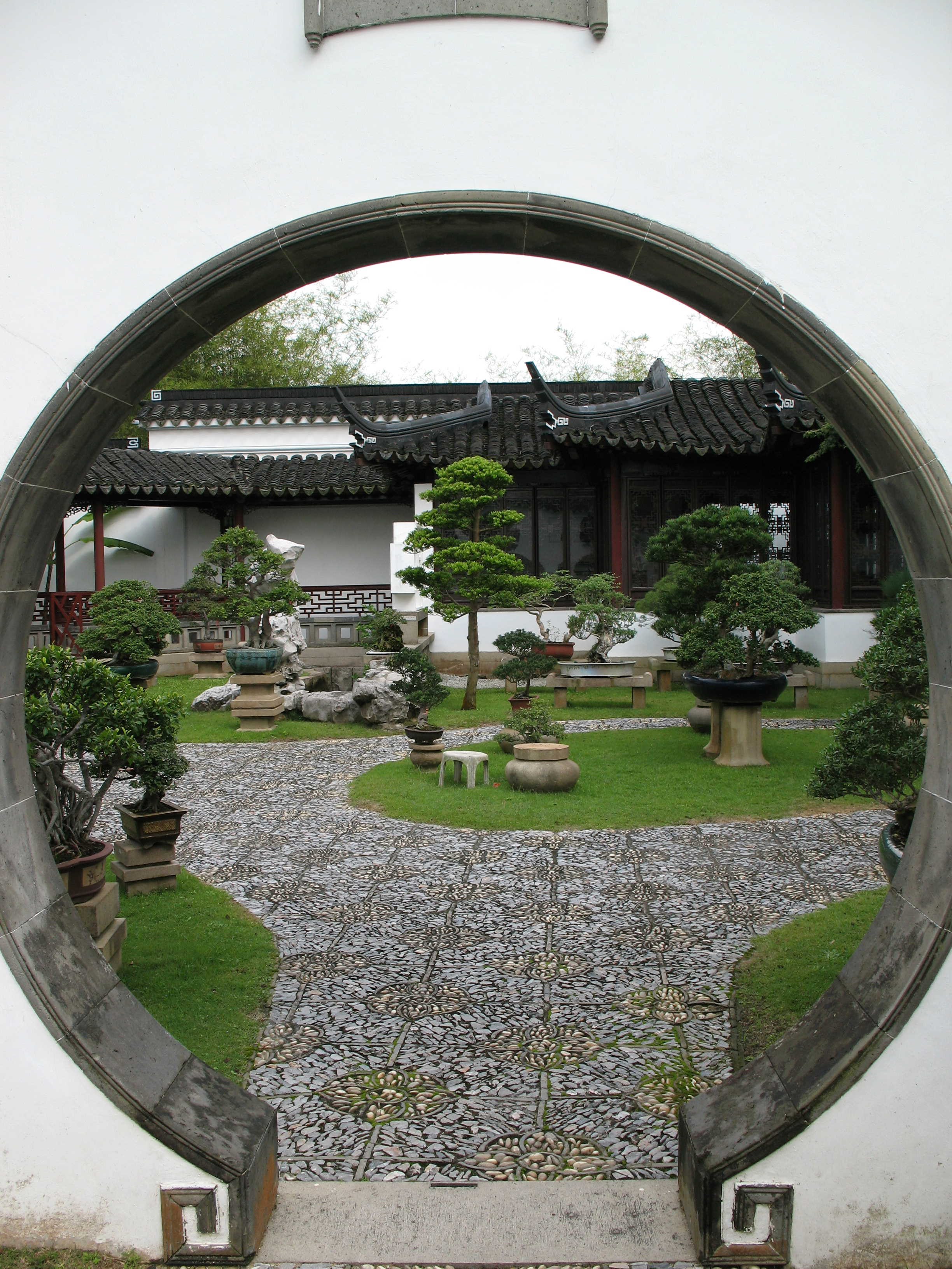 Chinese et japanese gardens for Jardin chinois